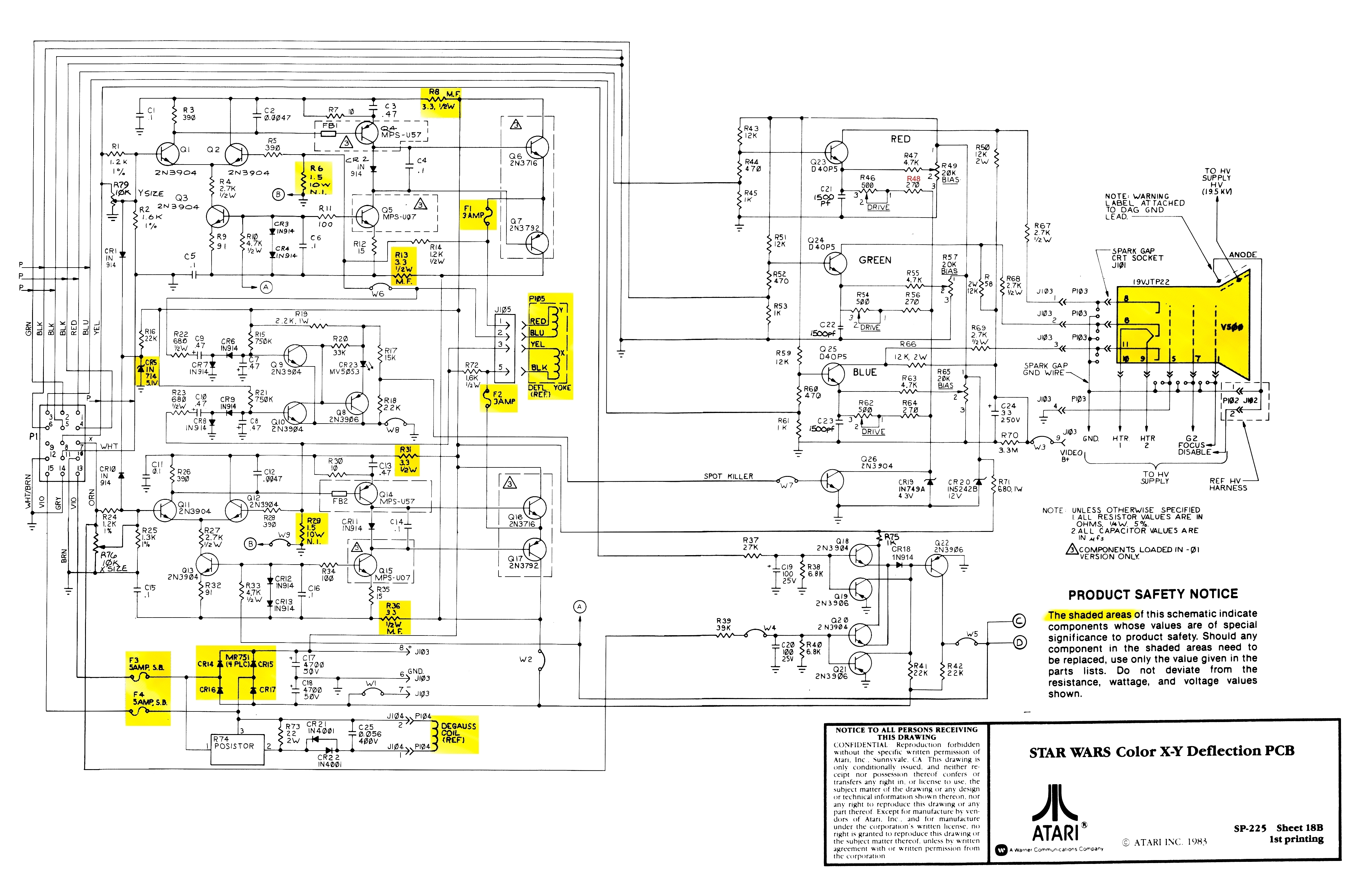 Crt Monitor Pcb Diagram Wiring Diagrams Schematic Circuit Get Free Image About Tv
